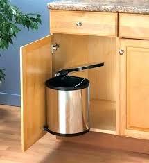 trash cans for kitchen cabinets inside cabinet trash can garbage cabinet kitchen garbage cabinet