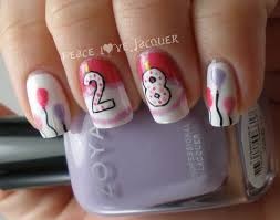 peace love lacquer happy birthday to me nail art u0026 flash giveaway