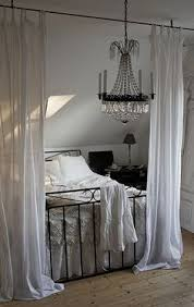 Faux Canopy Bed Drape Hang Your Canopy From The Ceiling For The Home From Brit Co