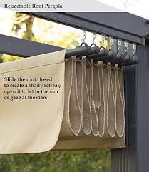 diy retractable pergola canopy diy retractable shade for a