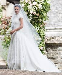 Couture Wedding Dresses Pippa Middleton Wore A Couture Giles Deacon Wedding Dress W Magazine