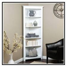 Espresso Corner Bookcase Bookshelf Corner Bookcase Design Ideas Together With Corner
