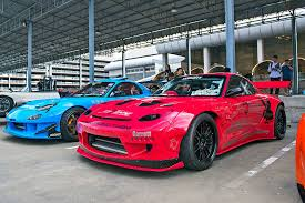 rocket bunny rx7 rx 7 vs gt r meet photo u0026 image gallery