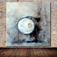 jazz drum hand painted modern abstract canvas oil painting wall