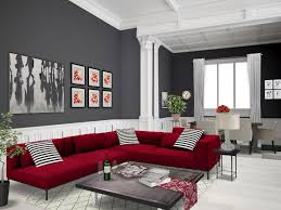living room and dining room combo red autodesk homestyler simplifiinteriors grey red living room
