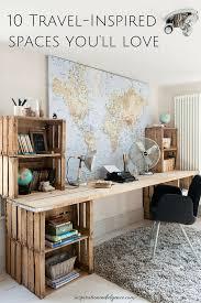 Eckschreibtische G Stig 10 Travel Inspired Spaces You U0027ll Love Schreibtische Günstig Und