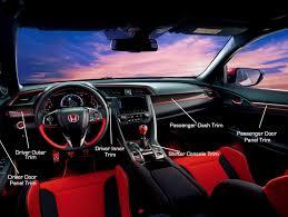 honda civic 2017 type r interior honda carbon interior trim set 2017 civic type r fk8 jhpusa