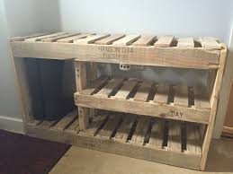 how to make a shoe cabinet diy shoe rack bench cottage bench with