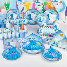 1st birthday party themes for boys 90pcs sports theme boy baby shower party supplies set sports