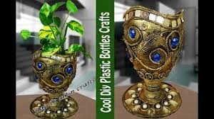 Best Out Of Waste Flower Vase How To Make Newspaper Flower Vase Altered Vase Best From Waste