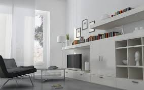 Contemporary Living Room Cabinets Awe Inspiring Cabinets And Shelving Units In White Paint Colors