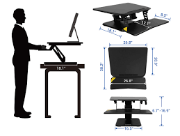 using a sit stand desk standing desk converters compactriser flexispot