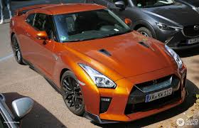 nissan orange nissan gt r 2017 20 august 2016 autogespot