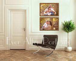 how can i decorate a hallway with artwork of my family northern