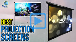 elite home theater screens top 10 projection screens of 2017 video review