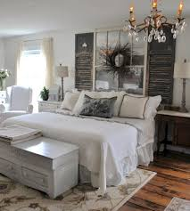 objet deco campagne chic rustic farmhouse style master bedroom ideas 15 chambres deco