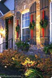 outdoor wreaths for your exterior design ideas with