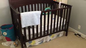 Graco Lauren Convertible Crib by Graco Lauren Convertible Crib In Espresso Review Youtube