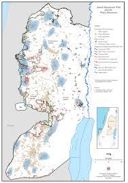 Jordan River Map West Bank Water Resources Map American Muslims For Palestine