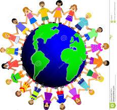 children around the world stock illustration illustration of