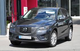 mazda america spyshots 2016 mazda cx 5 facelift autoevolution