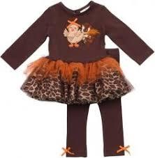 dress set for turkey day babies children
