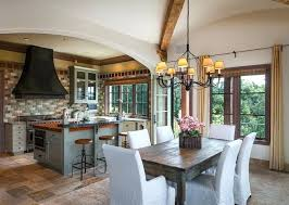 tuscan style kitchen canisters tuscan style kitchens style kitchen with breakfast bar island and