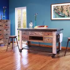 antique kitchen island w 5 drawers
