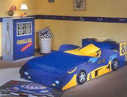 Bedroom Modern Designs Of Race Car Bunk Beds That Looks So Nice - Race car bunk bed