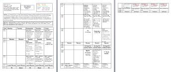 Weekly Lesson Plan Template Common by Miss Nguyen S Class Lesson Plan Template