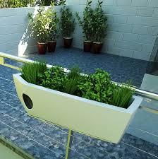 balcony railing planter white u2014 railing stairs and kitchen design