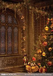 Church Backdrops Fab Vinyl Christmas Spirit Holiday Backdrop