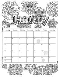 Calendar Coloring Pages free coloring pages from popular coloring books