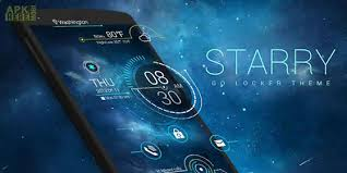 go locker apk starry go locker theme for android free at apk here store