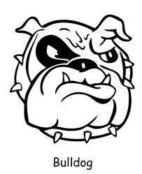 bulldog coloring pages to print bulldog coloring pages printable