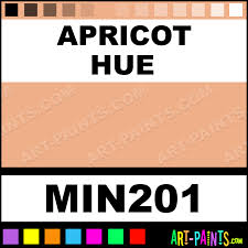 apricot powder casein milk paints min201 apricot paint