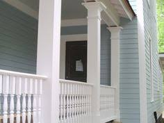 bm wedgewood gray exterior with bm white down trim in shade
