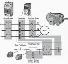 motor starter wiring diagram plc and automation pinterest