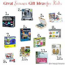 great science gift ideas for kids the happy housie