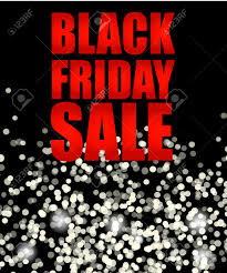 black friday sale background black white lights bokeh background