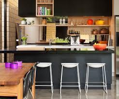 cuisine ouverte surface cuisine ouverte sur salon maison design bahbe com