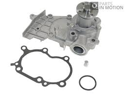 water pump fits daihatsu cuore mk5 1 0 98 to 03 coolant blue print