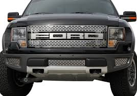 car craft ford f series stainless steel grille