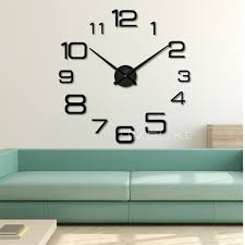 Decorative Wall Clocks For Living Room Compare Prices On Mechanical Clock 3d Online Shopping Buy Low