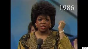 oprah winfrey new hairstyle how to 25 years of oprah s hairstyles in just 2 minutes huffpost