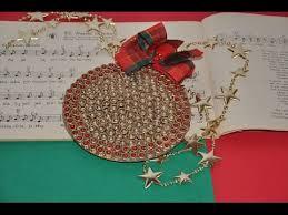 ornaments diy bombka z płyty cd