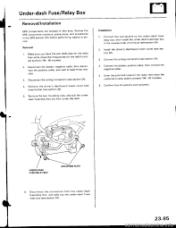 airbag honda civic 1999 6 g workshop manual