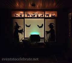 witch cutouts halloween halloween door u0026 window decorations events to celebrate