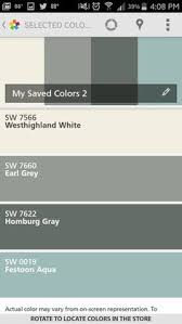 love these color swatches aqua for the front door dark grey for