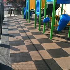 Recycled Tire Patio Pavers by Outdoor Flooring Tiles Rubber Flooring Designs